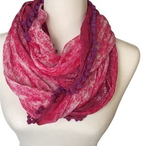 American Eagle Pink Infinity Scarf